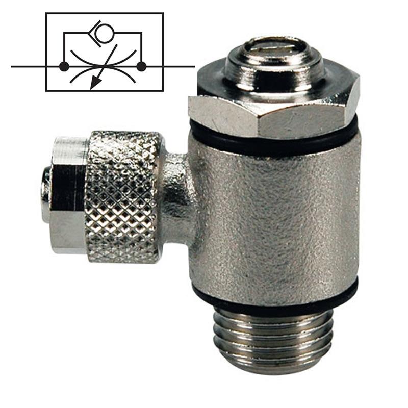 Škrtící ventil na přívodu