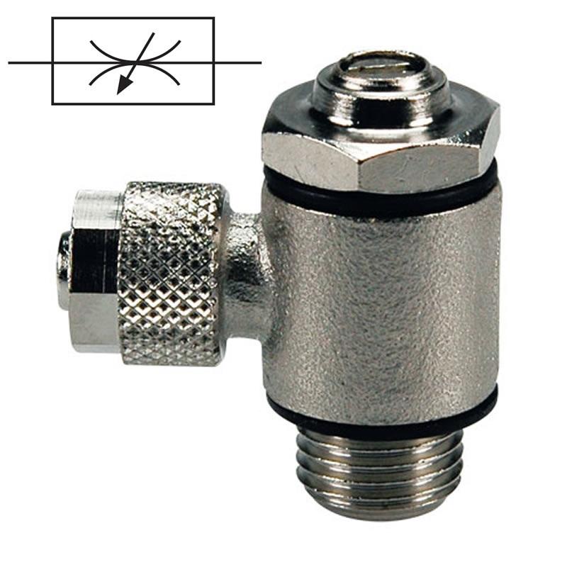 Škrtící ventil oboustranný