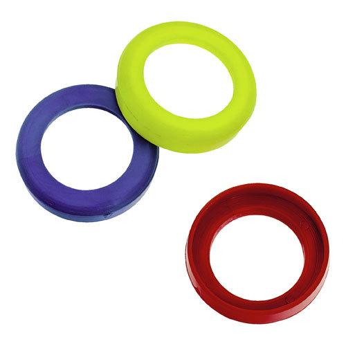 Kroužky pro označení média pro spojky na nástrčnou hadici