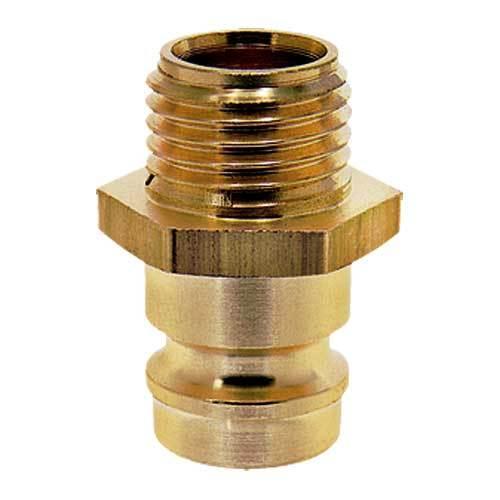 Vsuvky ESH s přímým vnějším závitem s ventilem