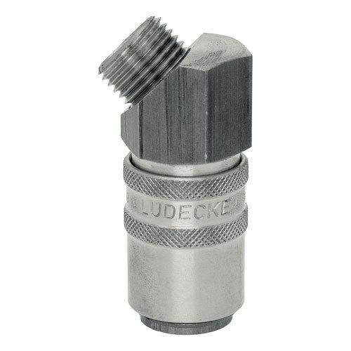 Rychlospojky ESHME s 45° vnějším závitem z nerez oceli