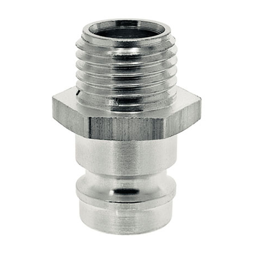 Vsuvky ESHME s přímým vnějším závitem z nerez oceli bez ventilu