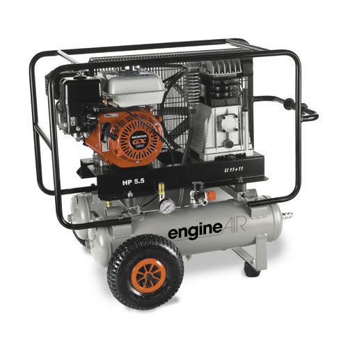 Benzínové kompresory dvojitá nádoba