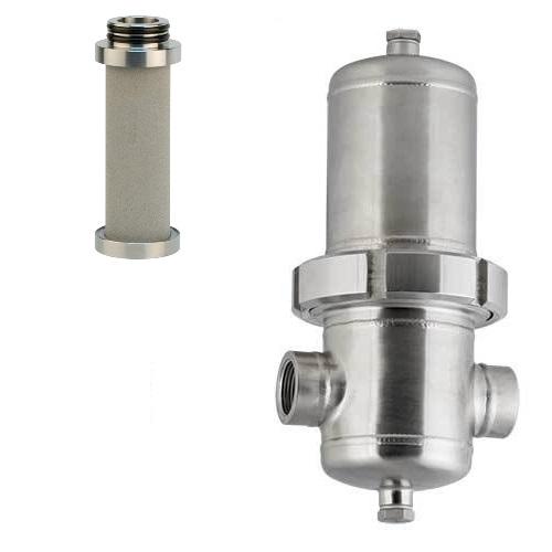 Nerezové procesní filtry HPFA