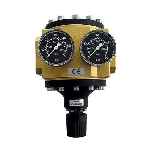 Vysokoprůtokový regulátor tlaku vzduchu