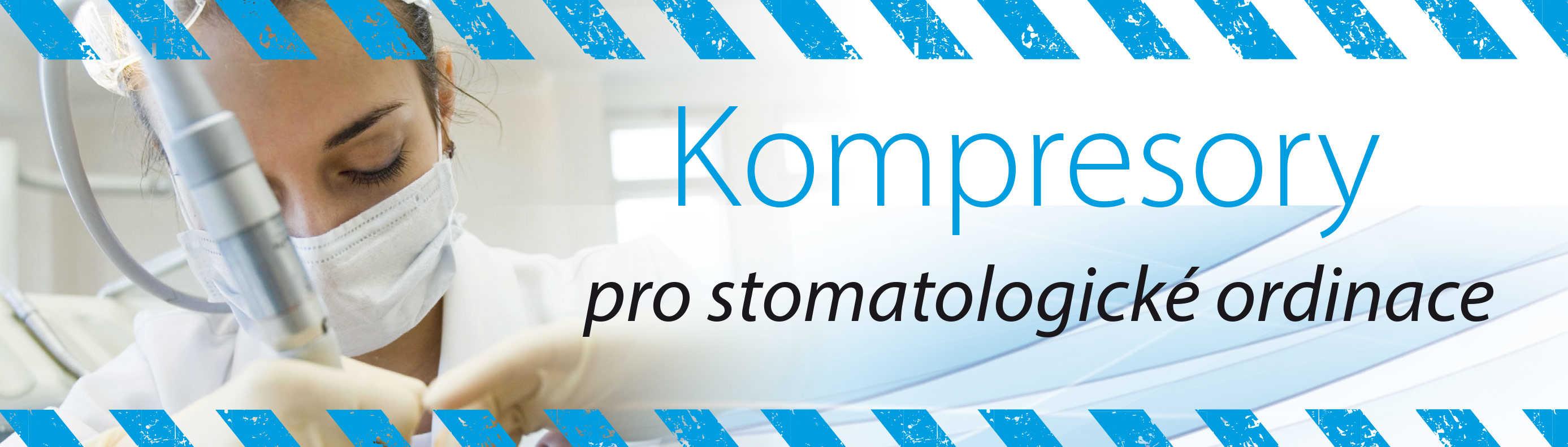 Stomatologické kompresory pro zubaře