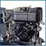 Dieslový kompresor s elektrocentrálou