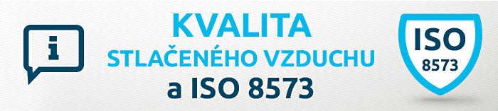 Kvalita stlačeného vzduchu a ISO 8573