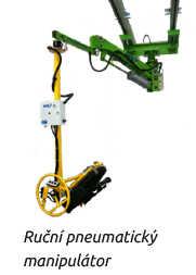 Ruční pneumatický manipulátor