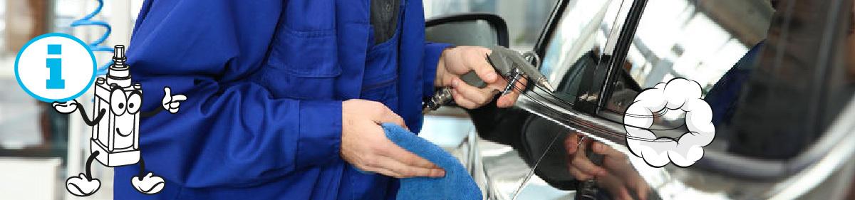 Ofukovací pistole a použití