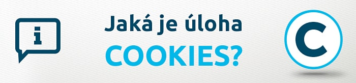 Jaká je úloha cookies?