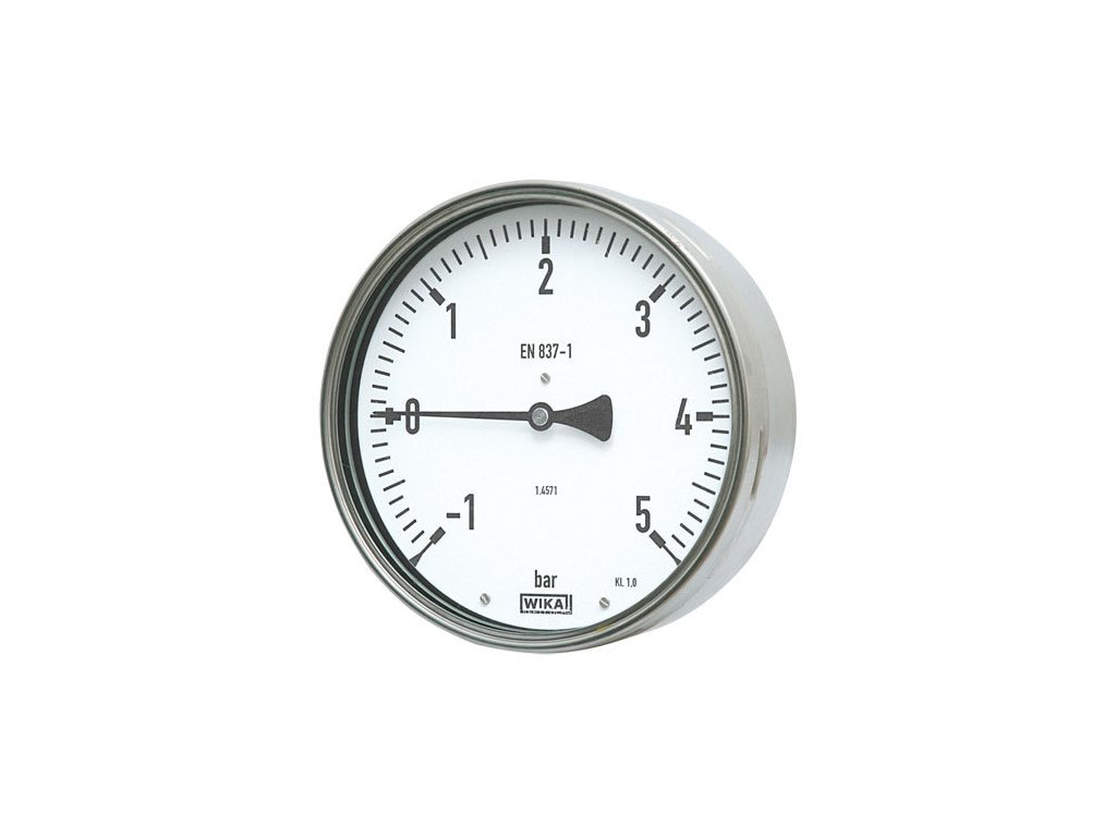 Manometr robustní zadní 0/10 bar - 100 - 1/2