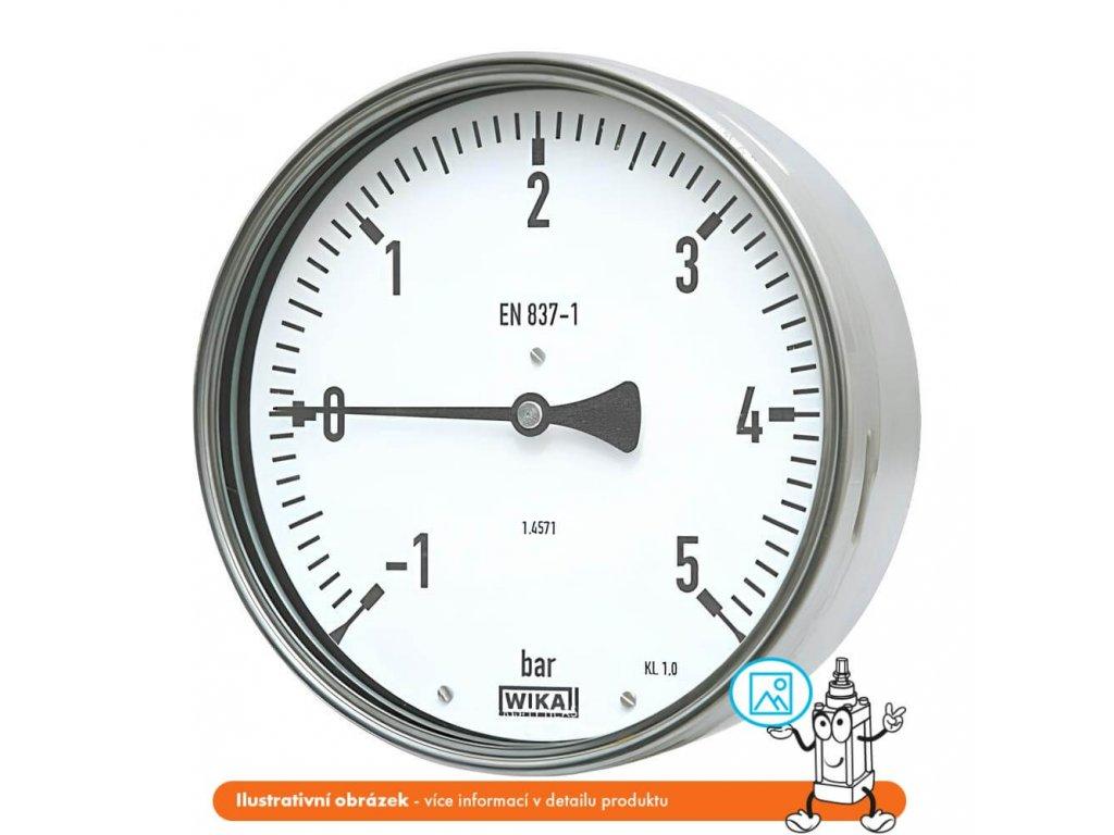 Manometr robustní zadní -1/0 bar - 100 - 1/2