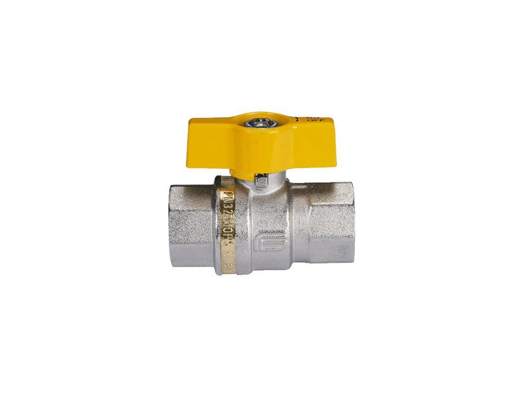 """Plynový kulový kohout vnitřní/vnější závit - G1"""""""