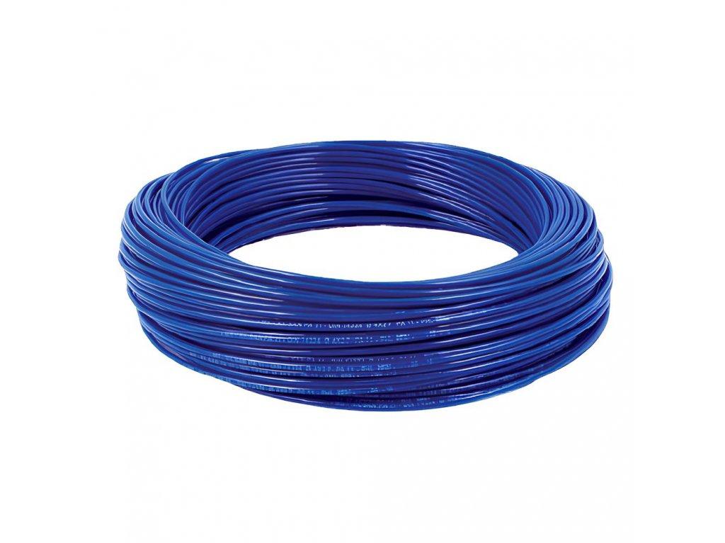 Hadička z polyamidu PA11 modrá 8/6 mm