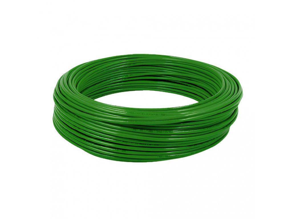 Hadička z polyamidu PA11 zelená 8/6 mm
