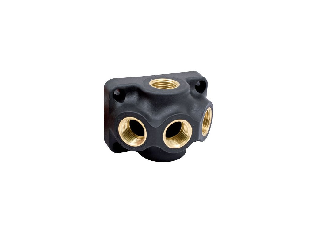 Ukončovací krabice pro rozvod vzduchu G3/4 - 2 x G3/4