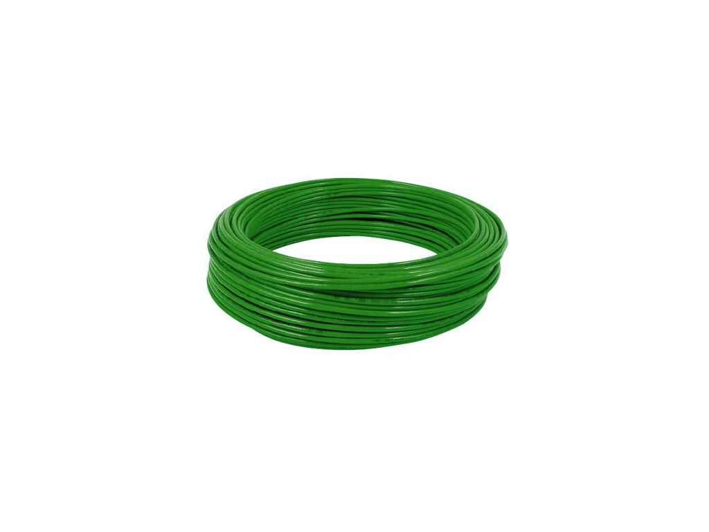 Hadička z polyamidu PA12 zelená 8/6 mm