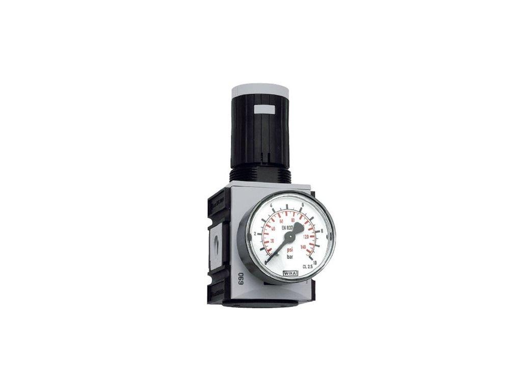 """Regulátor tlaku 1/4"""", 0,5 - 10 bar, 2 200l/min"""