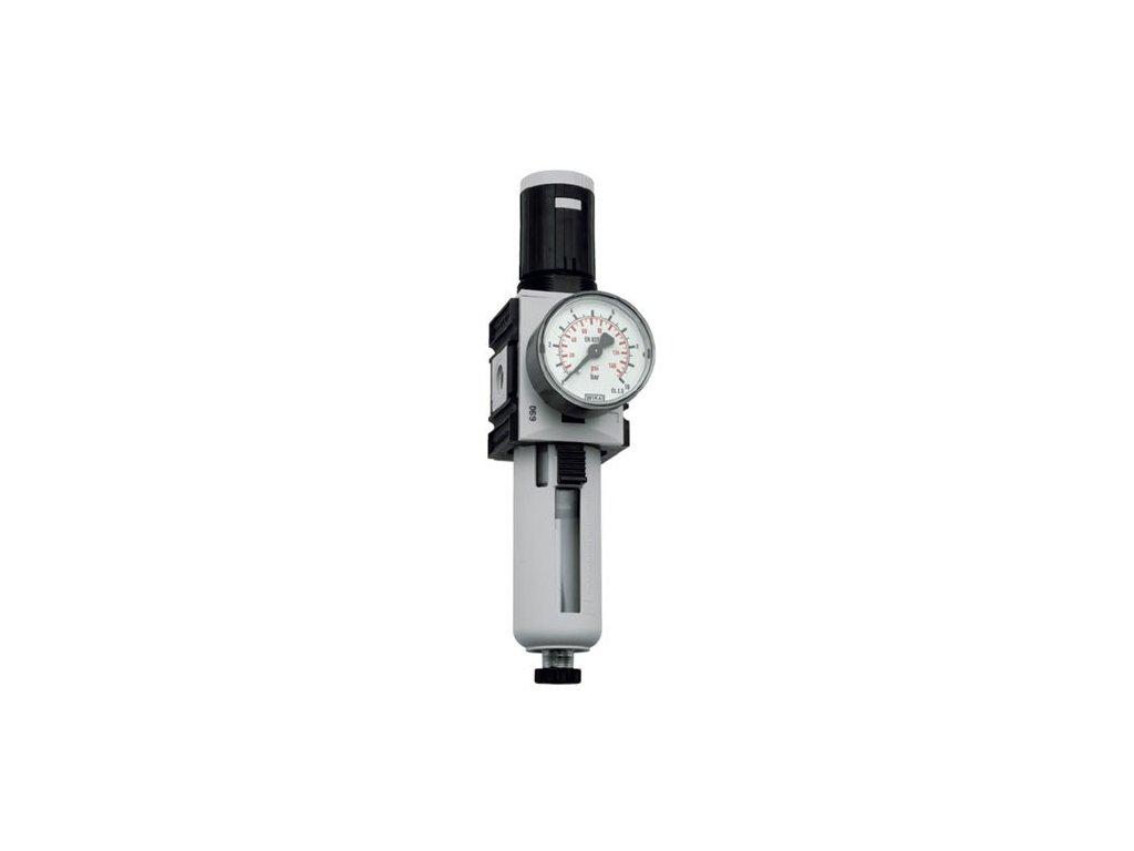 "Regulátor tlaku s filtrem 1/2"", 0,5 - 8 bar, 5 200l/min"