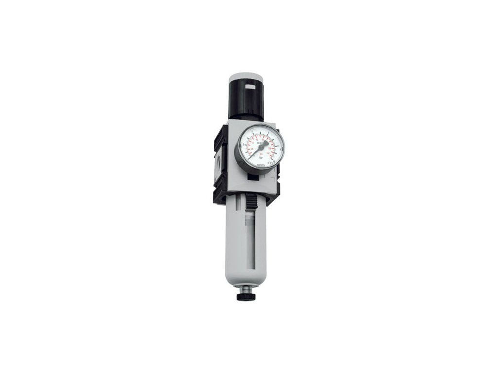 "Regulátor tlaku s filtrem 1"", 0,5 - 10 bar, 14 500l/min"