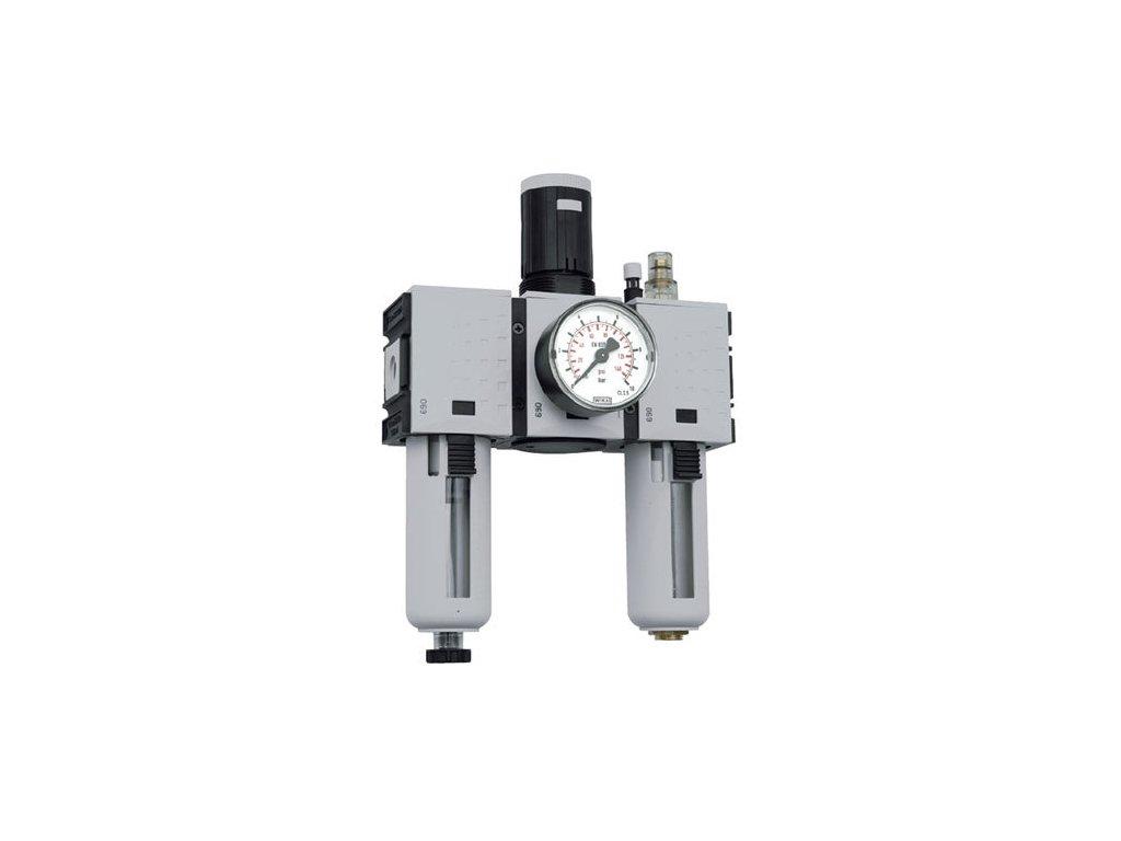 """Třídílné jednotky Futura 1/4"""", 0,1 - 1 bar, 1 400 l/min"""