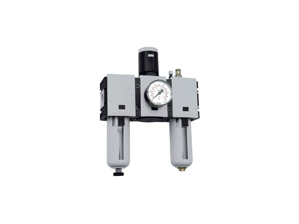 """Třídílné jednotky Futura 3/8"""", 0,5 - 8 bar, 3 500 l/min"""