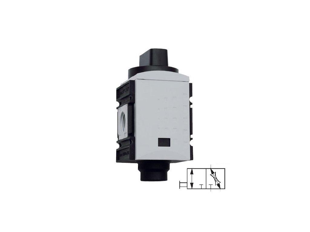 """Uzavírací ventil 1"""", 16 000 l/min"""