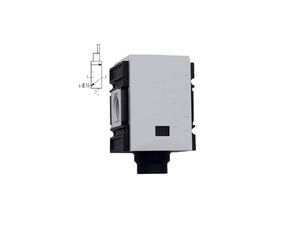 """Spínací ventil - PNEU 1/4"""", 2 000 l/min"""