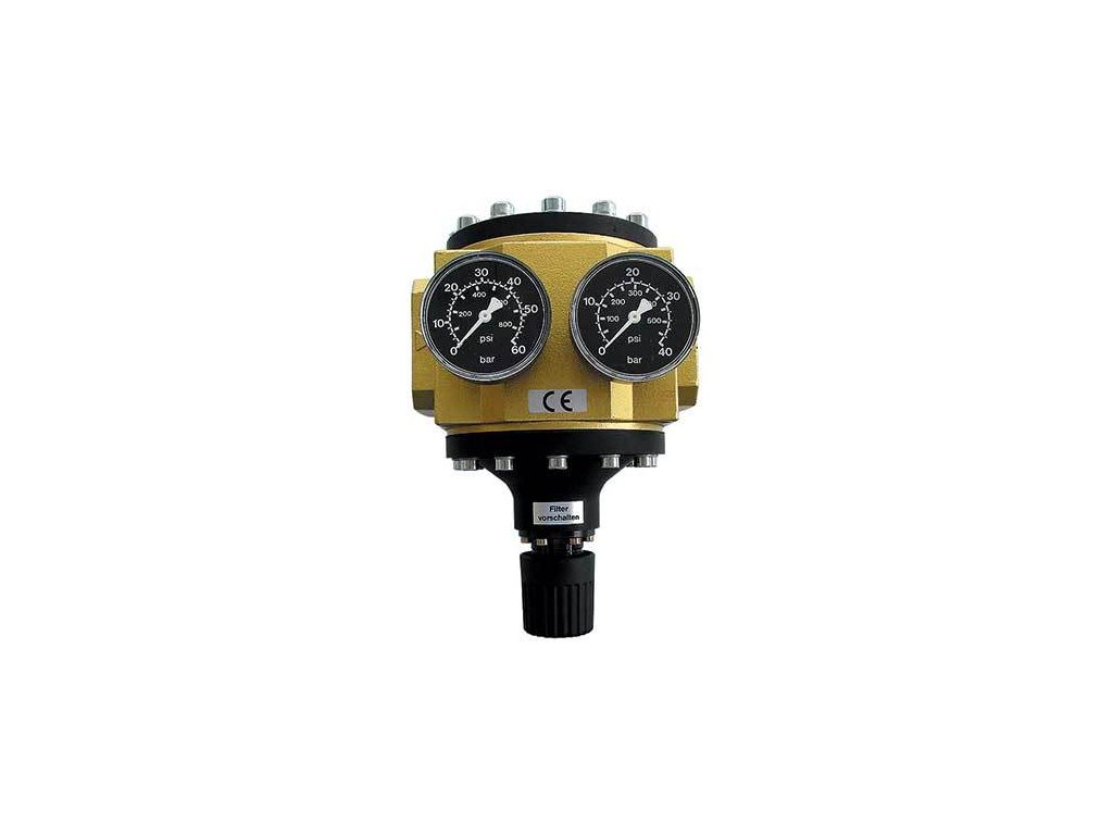 """Regulátor tlaku 2"""", 25 000 l/min, 0,5-6 bar"""