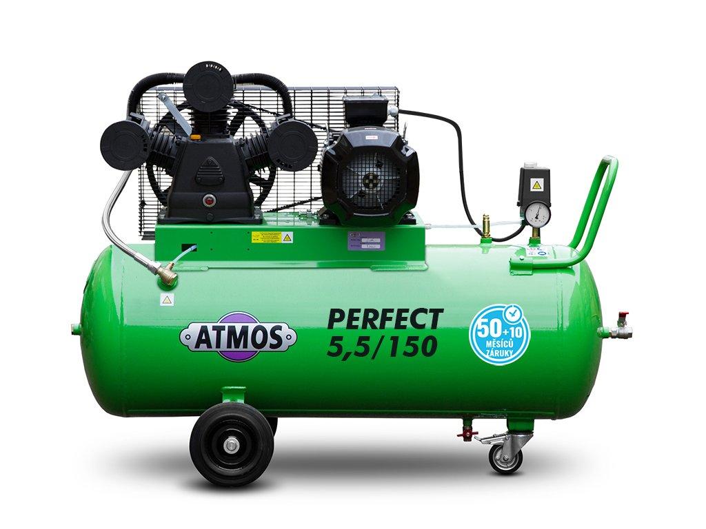 Pístový kompresor Perfect - 5,5/150