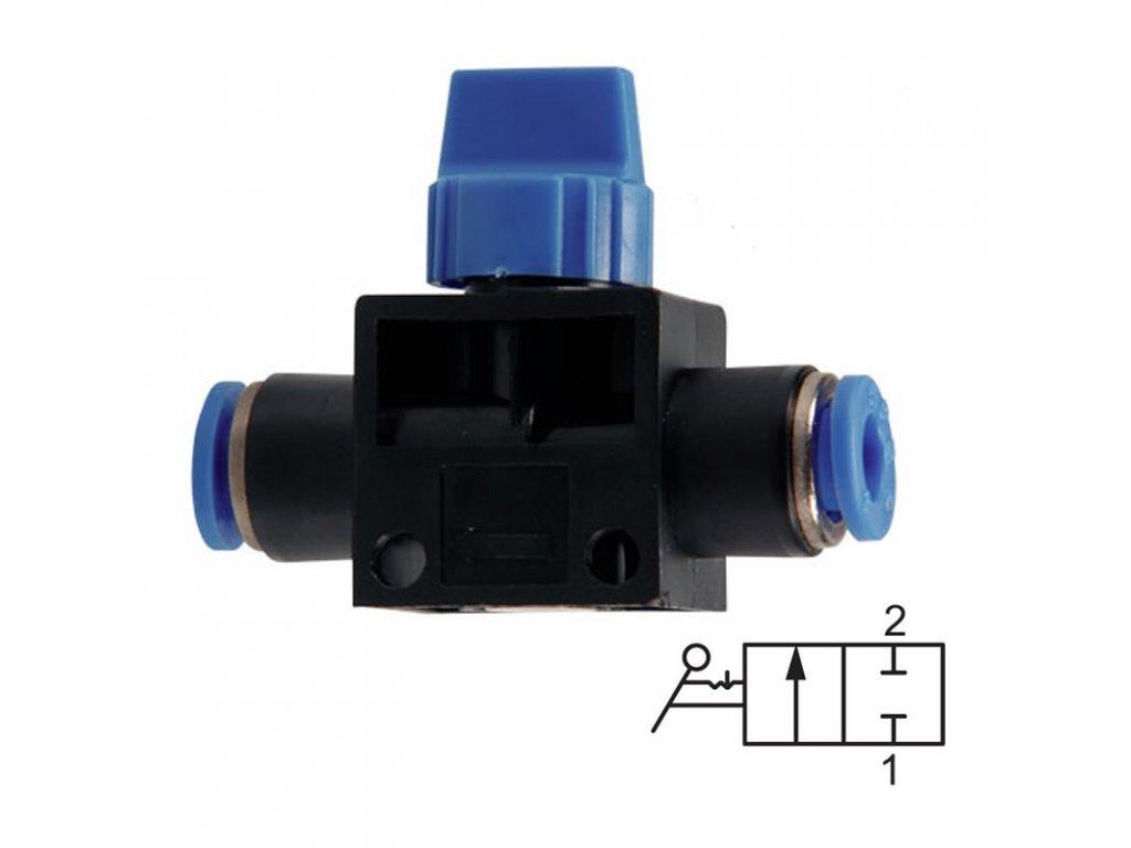 Uzavírací ventil bez odvětrání 6