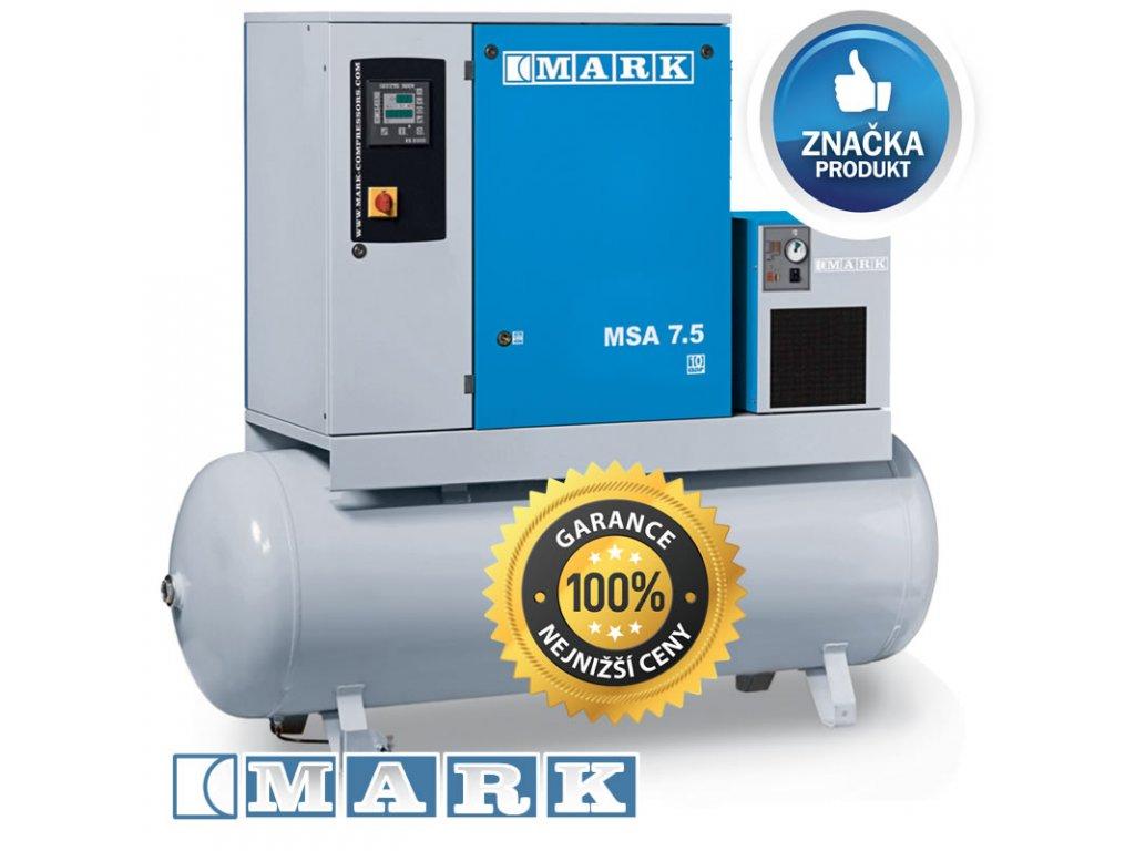 Šroubový kompresor MSA - MSA11/13-500D