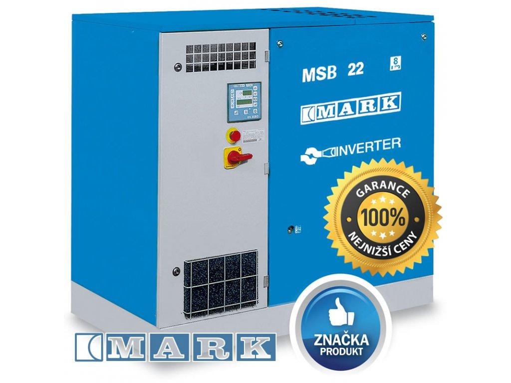 Šroubový kompresor MSB-IVR - MSB2-22/8IVR