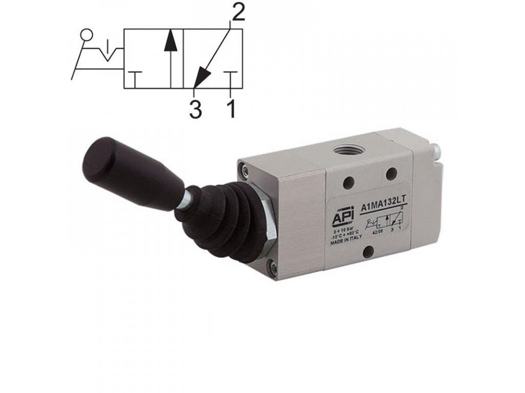 Ručně ovládaný ventil A1MA132LT