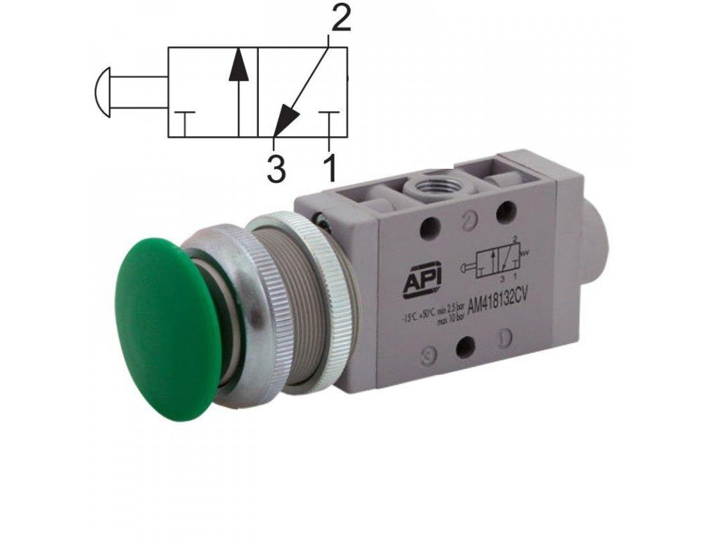 Ručně ovládaný ventil A1MA132TT