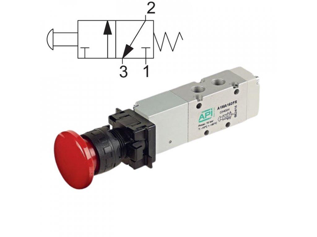 Ručně ovládaný ventil A1MA130TT