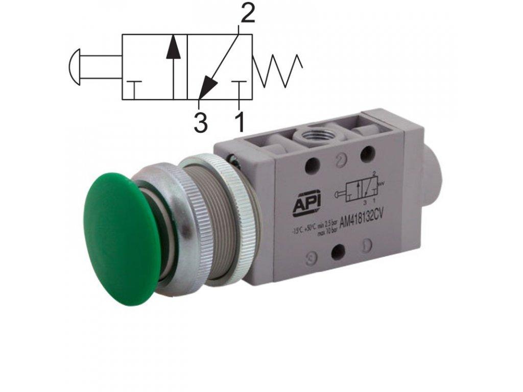 Ručně ovládaný ventil A1MA132FV