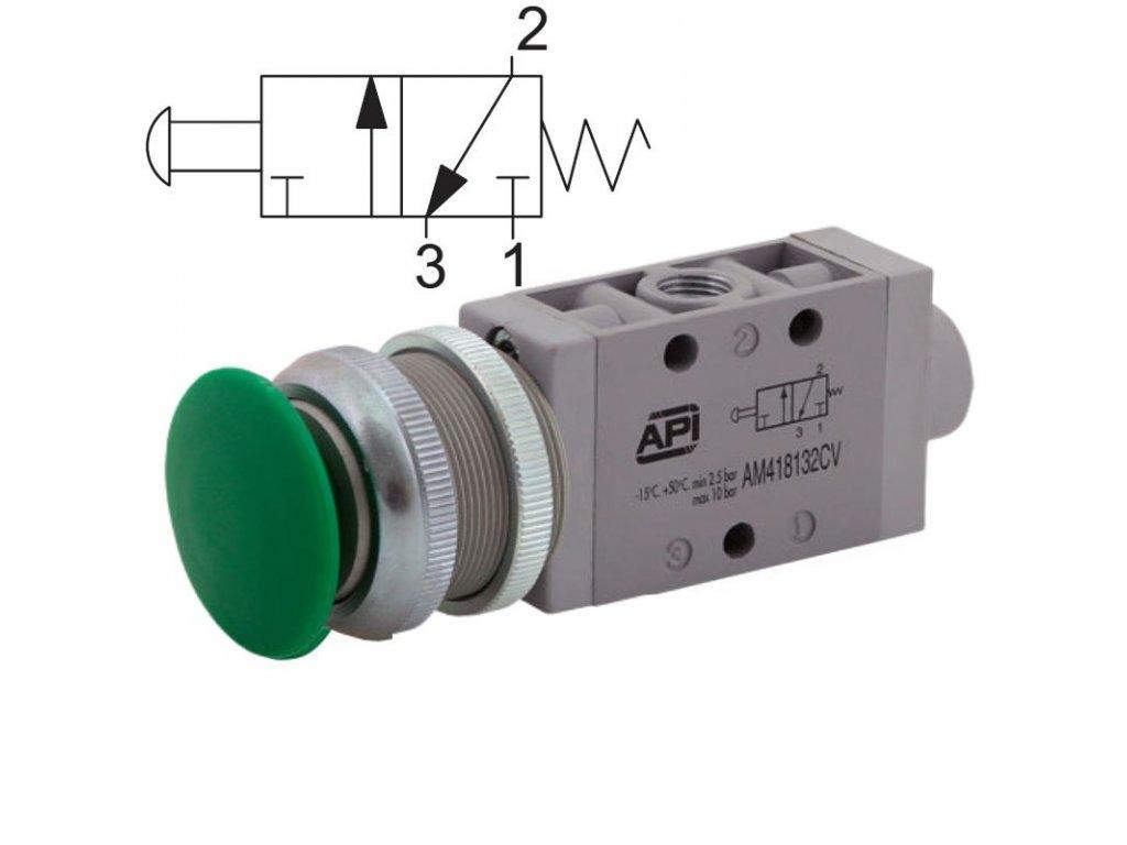 Ručně ovládaný ventil A1MA132FN