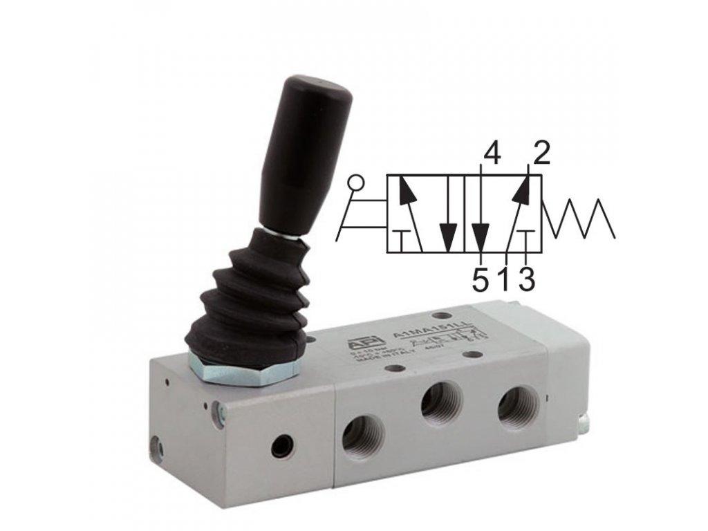 Ručně ovládaný ventil A1MA150LL