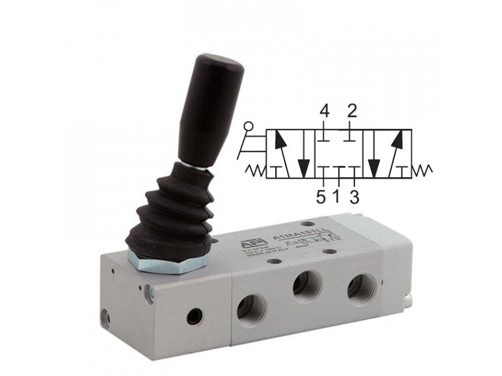 Ručně ovládaný ventil A1MA170LL