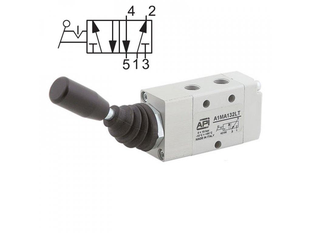 Ručně ovládaný ventil A1MA151LT