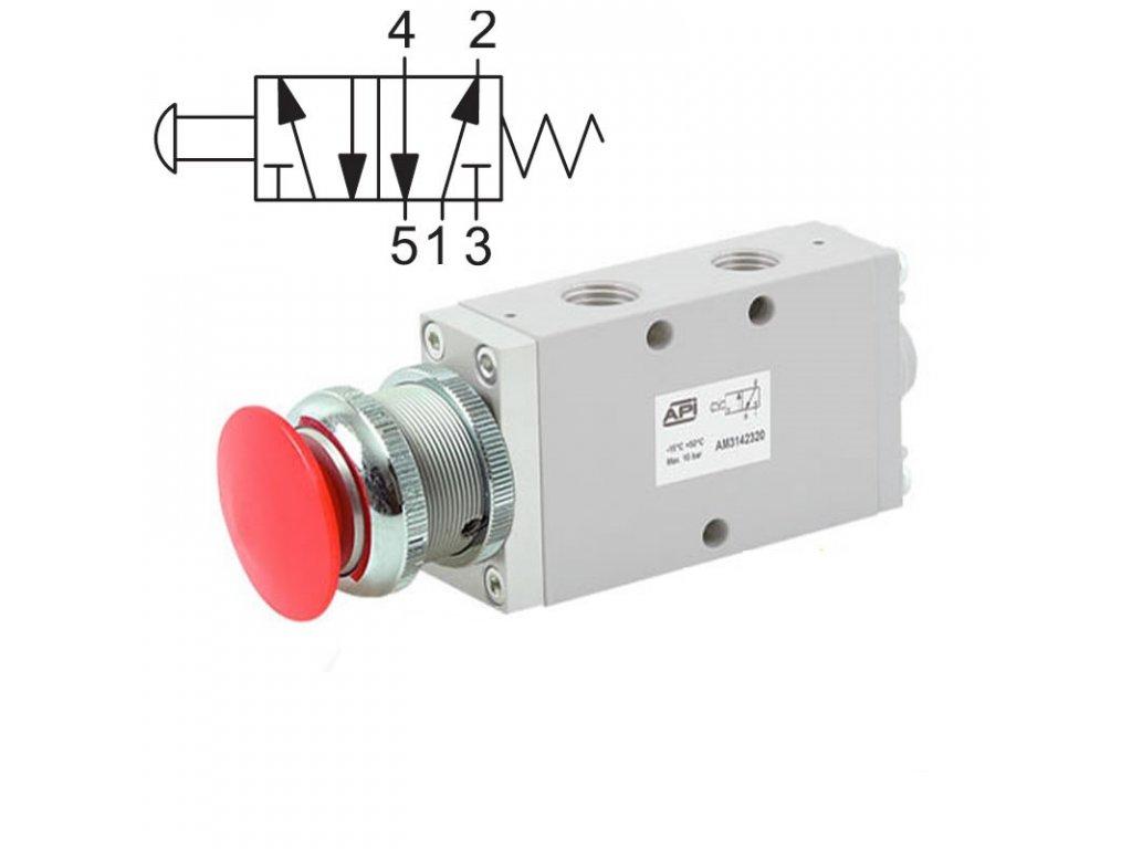 Ručně ovládaný ventil A1MA150FR