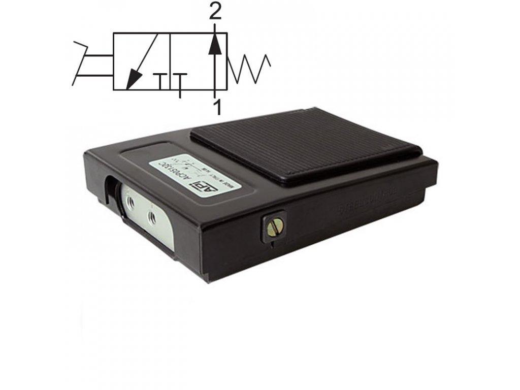 Pedálový ventil ACP04132A