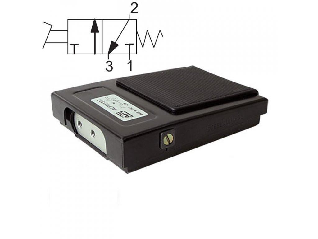 Pedálový ventil ACP05132C