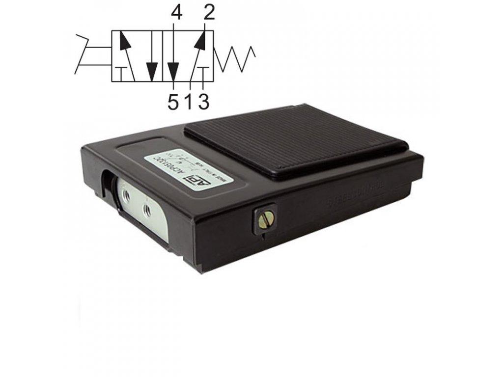 Pedálový ventil ACP051520