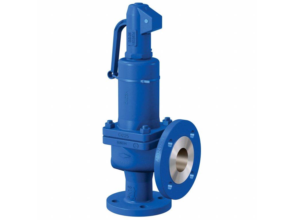 Pojistný ventil přírubový 6121 - DN50 - 0,2-16 bar