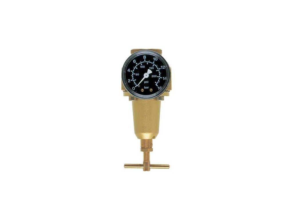 """Regulátor tlaku 1/4"""", 430 l/min, 0,5-16 bar"""