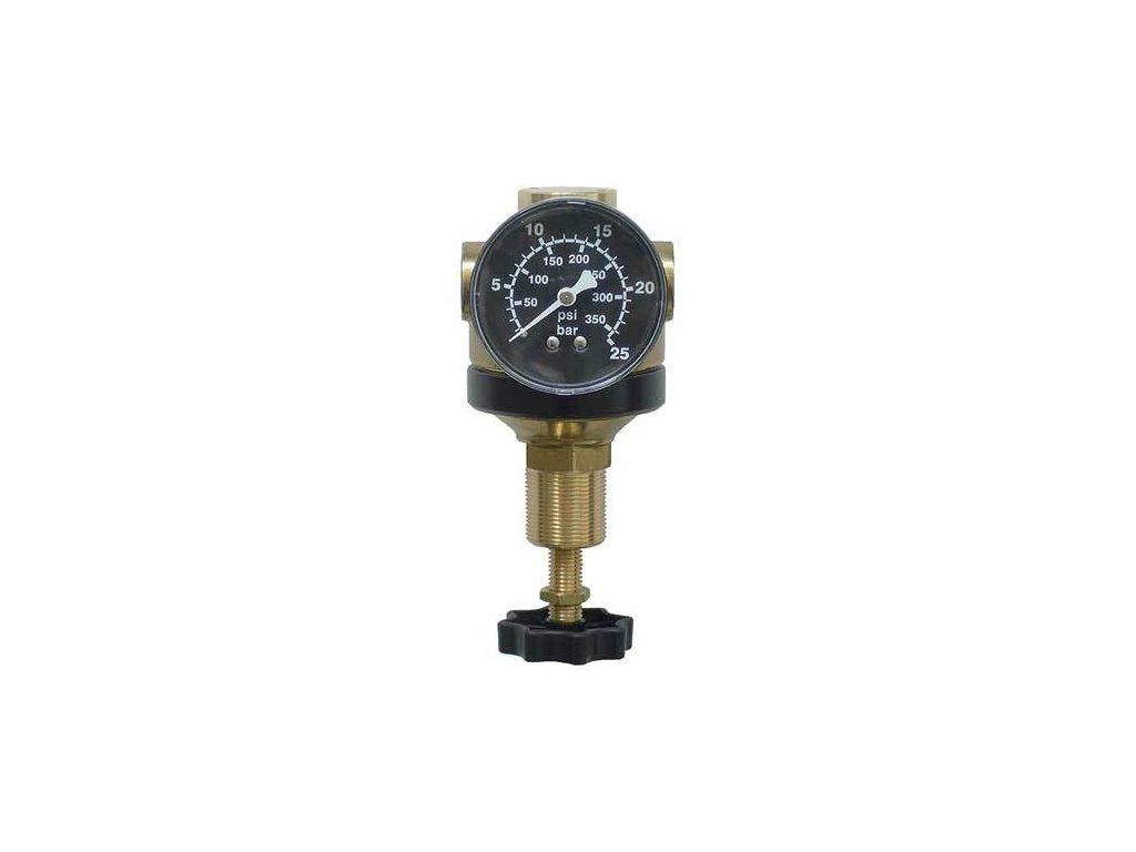 """Regulátor tlaku 1/4"""", 1400 l/min, 0,5-12 bar"""