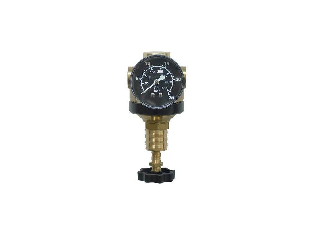 """Regulátor tlaku 1/4"""", 1400 l/min, 3,0-50 bar"""